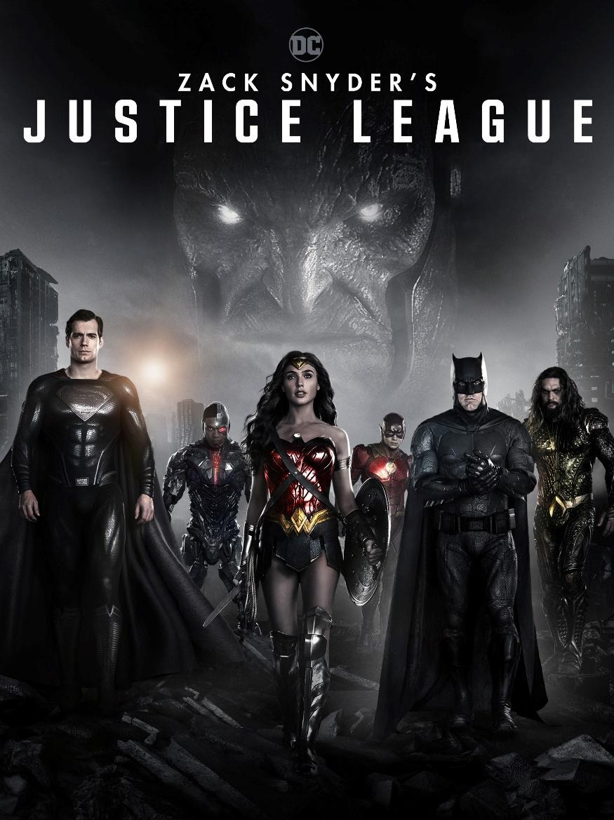 2. Zack Snyder's Justice League