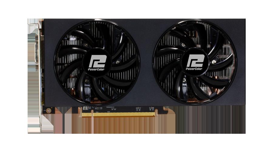 การ์ดจอเล่นเกมสำหรับสายเกมเมอร์ที่แท้จริง PowerColor VGA Radeon RX 5500 XT 02