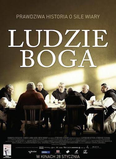 Polski plakat filmu 'Ludzie Boga'