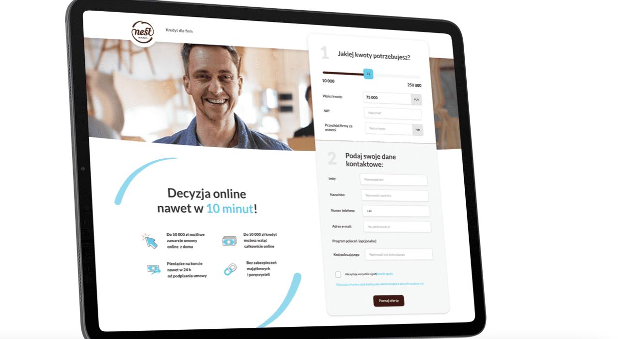 W pełni zdalny kredyt w Nest Banku jest faktem! Bank udostępnił wniosek o weryfikację klienta za pomocą otwartej bankowości i podpisanie umowy online!