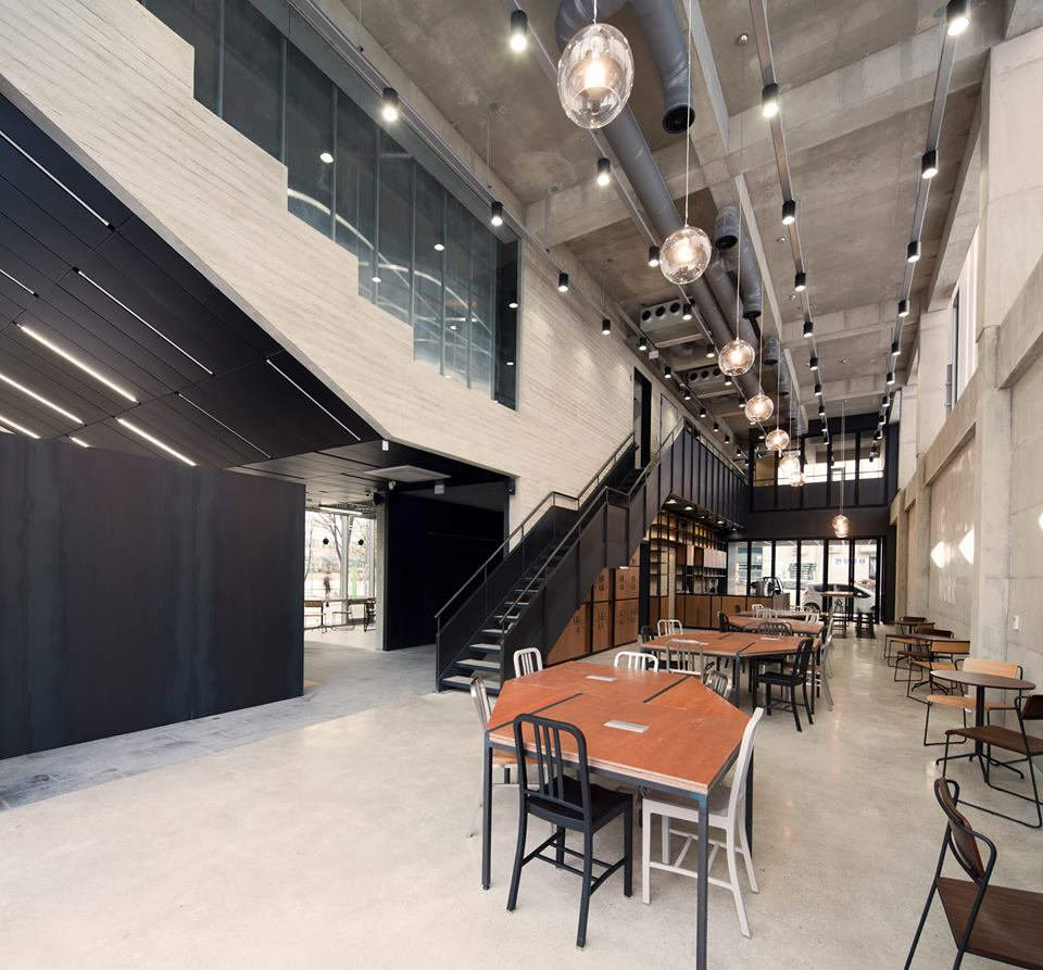 Cow and Dog Coworking Space in Seoul