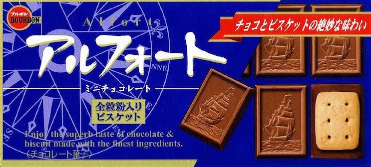 ブルボンアルフォートミニチョコレート