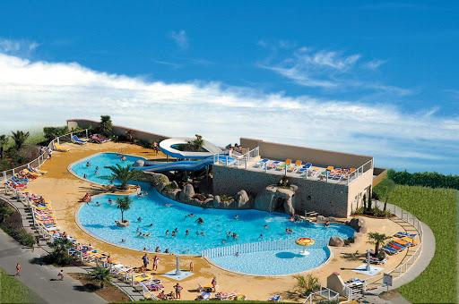 camping la route blanche camping normandie brville sur mer