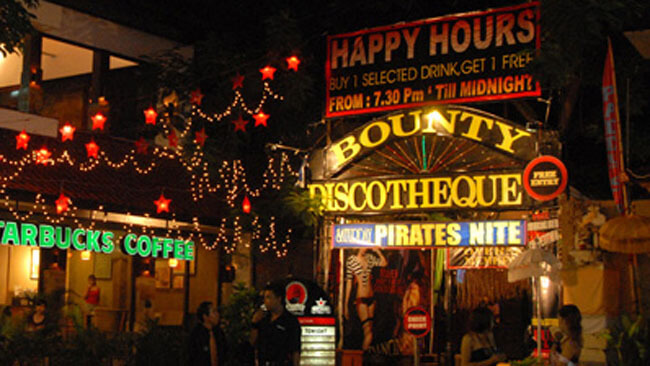 Bounty Discotheque in Kuta, Bali