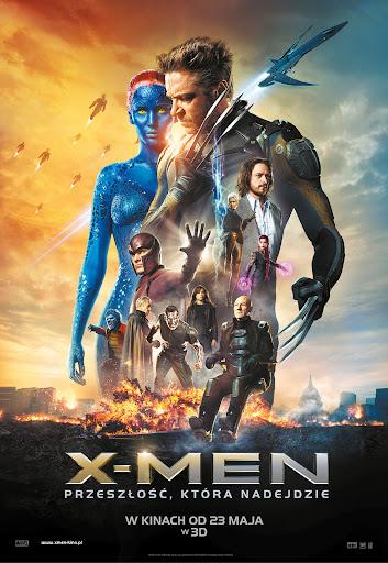 Polski plakat filmu 'X-Men: Przeszłość, Która Nadejdzie'