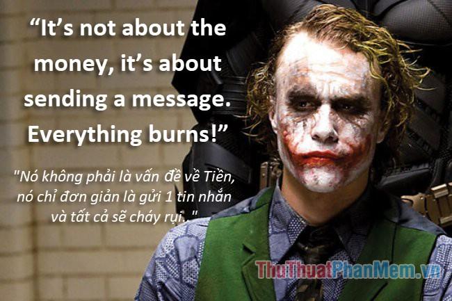 Những câu nói hay của Joker - 15