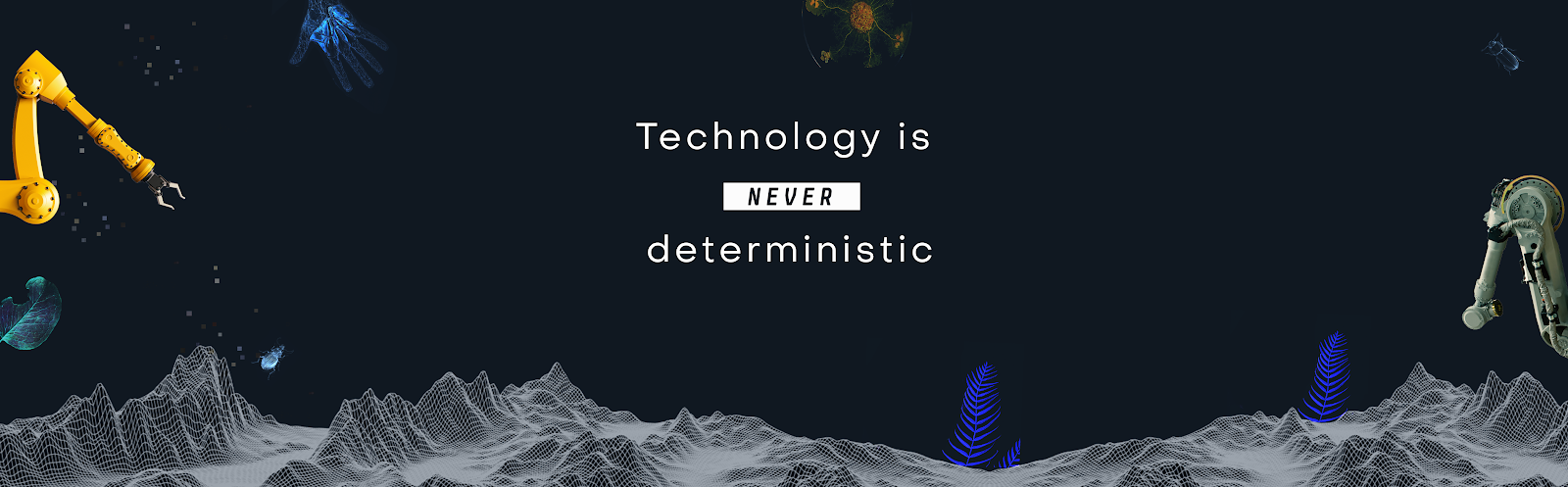 De toekomst ligt niet in steen.