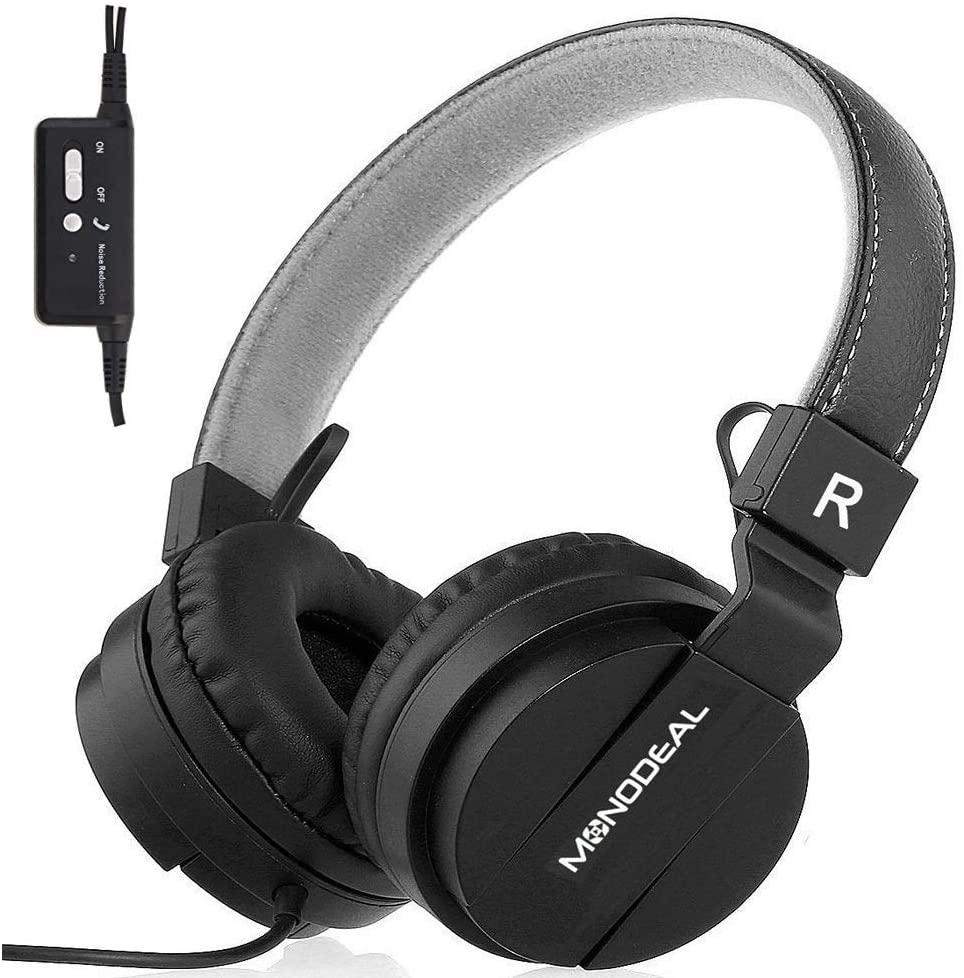 10: MONODEAL Kids Active Noise Cancelling Headphones