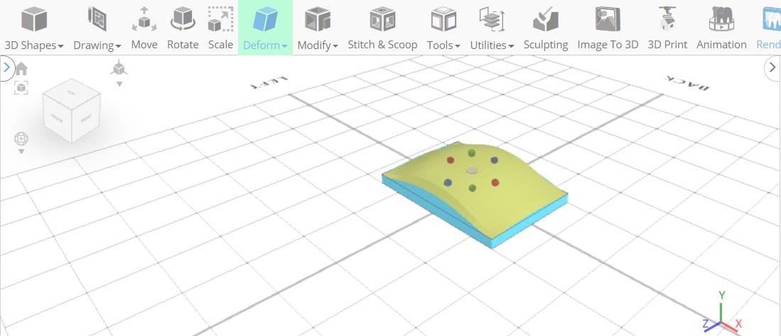 3D designing a mouse