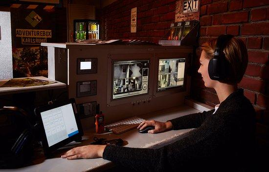 Live Überwachung durch die Adventurebox Game Master - Picture of ...