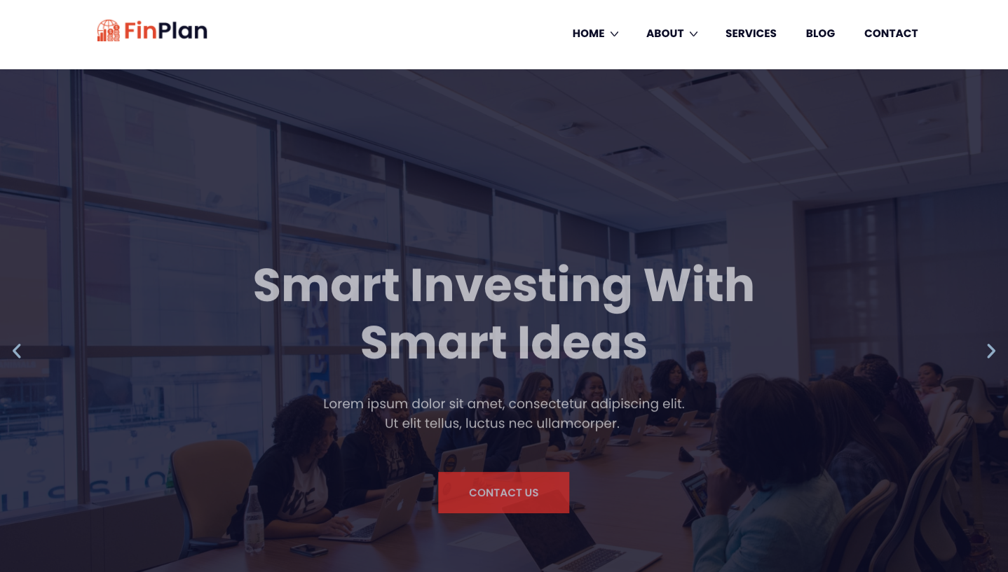 FinPlan - Finance Consulting WordPress Theme