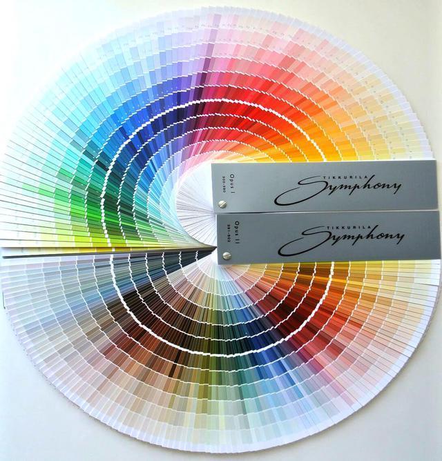 Каталог цвета Tikkurila для окраски мебели